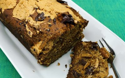 Peanut Butter Banana Bread Vegan, Gluten-free if made using gluten-free flour