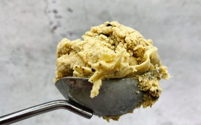 Chickpea 'Snickers' Style Ice Cream – Plant Based